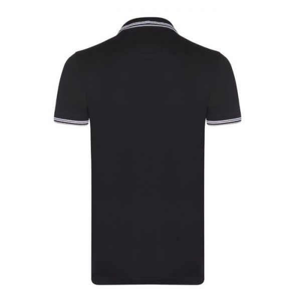 Polo Hugo Boss New Noir dos