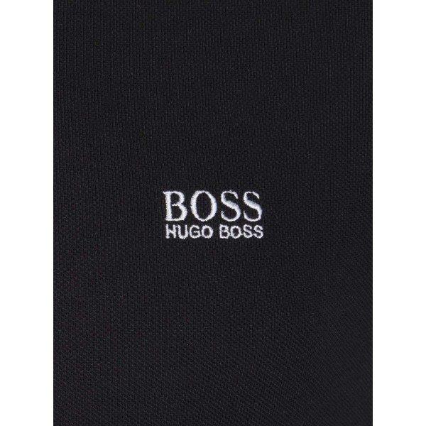 Polo Hugo Boss noir signe